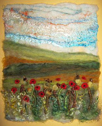 'Pastures New' -  description same as needle felted category.