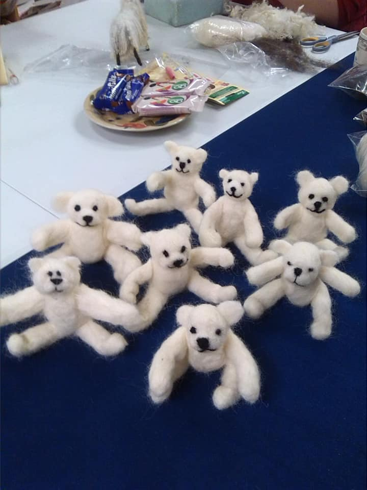 Make a Teddy workshop